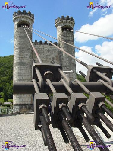 Tirantes del puente Puente de Charles-Albert
